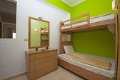 роскошный дизайн интерьера спальни — Стоковое фото