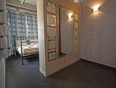 Luxury bedroom interior design — Stock Photo