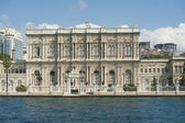 Large palace on a river — Stock Photo