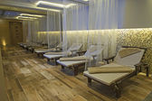 Relaxation area of a luxury health spa — Stock Photo