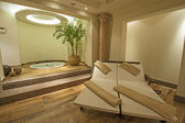Private room in a luxury health spa — Stock Photo
