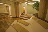 Private room in a luxury health spa — Foto Stock