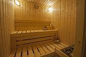 Private sauna in a health spa — Stock Photo