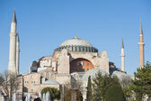 View of the Hagia Sophia in Istanbul Turkey — Stock Photo