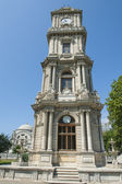Ornate ottoman clock tower in istanbul — Foto de Stock
