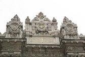 Imperial tor at dolmabahce paleis in istanbul — Stockfoto