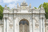 Entrance gate to Dolmabahce Palace Istanbul — Stock Photo