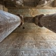 Columns in an ancient egyptian temple — Stock Photo #6746161