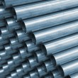 Blue Tone Steel Pipe — Stock Photo