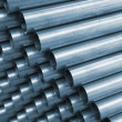 Blue Tone Steel Pipe - Stockfoto