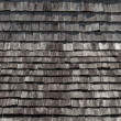 Top view wood roof texture — Foto Stock