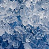 Blue Tone Ice cube — Stock Photo