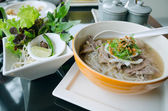 Pho Lao style noodle soup — Stock Photo