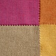 Sample Fabric Hot Tone Color — Stock Photo #29882955