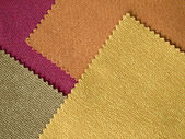 Sample Fabric Hot Tone Color Layer — Stock Photo