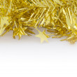 Gold Decoration for Christmas and New Year — Stok fotoğraf