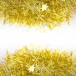 Gold Decoration Over and Under for Christmas and New Year — Stock Photo #36816101