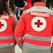 Red cross — Stock Photo