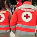 Red cross — Stock Photo