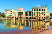 Hotel in egypt — Stock Photo