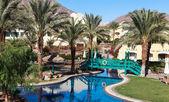 Egyptian resort — Stock Photo