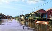 плавание деревни — Стоковое фото