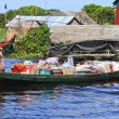 Foto Stock: Floating village