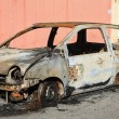 Burned car — Stock Photo #41900239