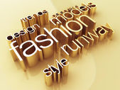 Fashion world — Foto Stock