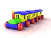 Train jouet — Photo