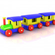 Toy train — Foto de stock #13577118