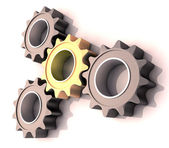 Pinion gear — Stock Photo