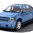 Blue pickup — Stock Photo #17978023