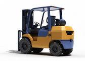Forklift loader close-up — Stock Photo