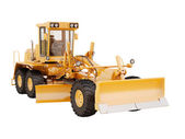 Modern grader isolated — Stock Photo