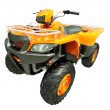 Quad bike isolated — Stock Photo