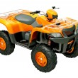 Quad bike isolated — Stok fotoğraf