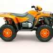 Quad bike — Foto de Stock