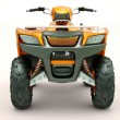 Stock Photo: Quad bike