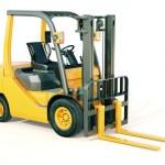 Forklift truck — Stock Photo