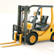 Stock Photo: Forklift truck