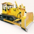 Heavy crawler bulldozer — Stock Photo #30466147
