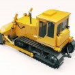 Heavy crawler bulldozer — Stockfoto
