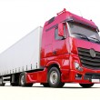 Semi-trailer truck — Stock Photo #30466671
