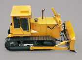 Heavy crawler bulldozer — Stock Photo