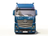 Semi-trailer truck — Stock Photo
