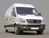 Commercial van — Stock Photo