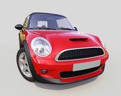 Carro compacto moderno — Fotografia Stock