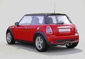 Modernt kompakt bil — Stockfoto