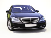 Modern luxury executive car — Stock Photo